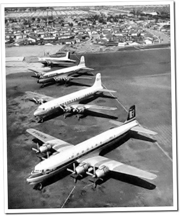 DC-3, DC-4, DC-6 and DC-7