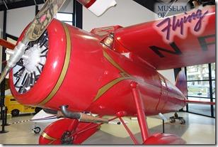 Lockheed Vega replica - Museum of Flying