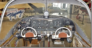 North American Navion - Cockpit - Museum of Flying