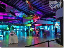 Main Bay as Dance Floor with lighting