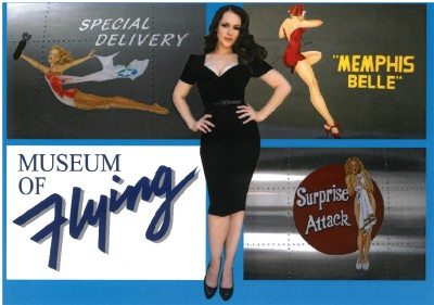 Pinup flyer front