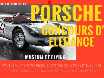 Porsche Concours d' Elegance