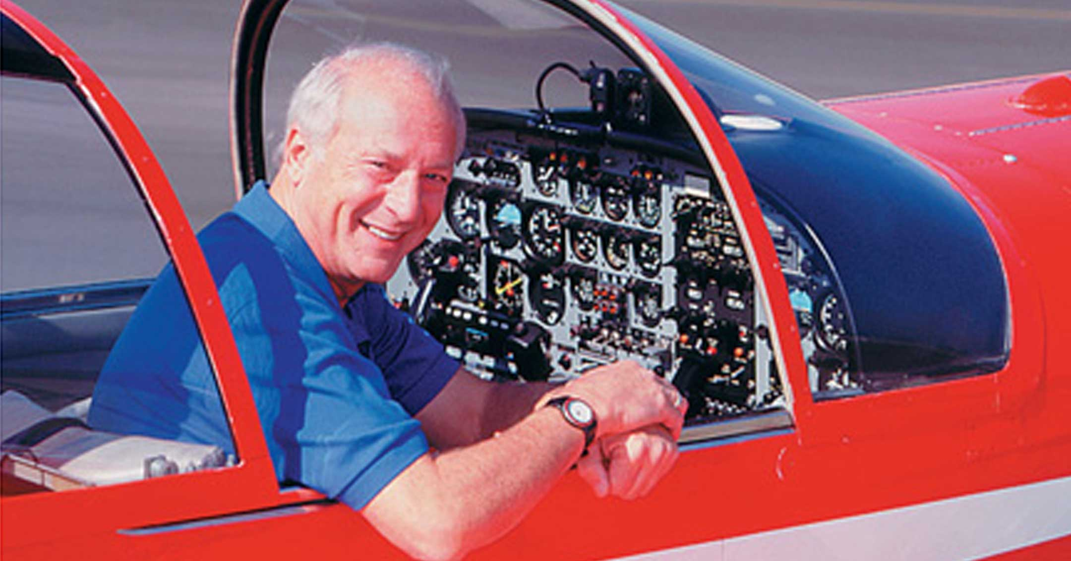 Barry Schiff | California Aviation Hall of Fame | Museum of Flying