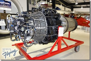 Allison J33-A-23 engine - Museum of Flying
