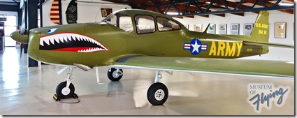 North American Navion - Museum of Flying