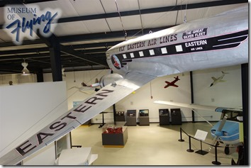 DC-3 1/6th scale model - Museum of Flying
