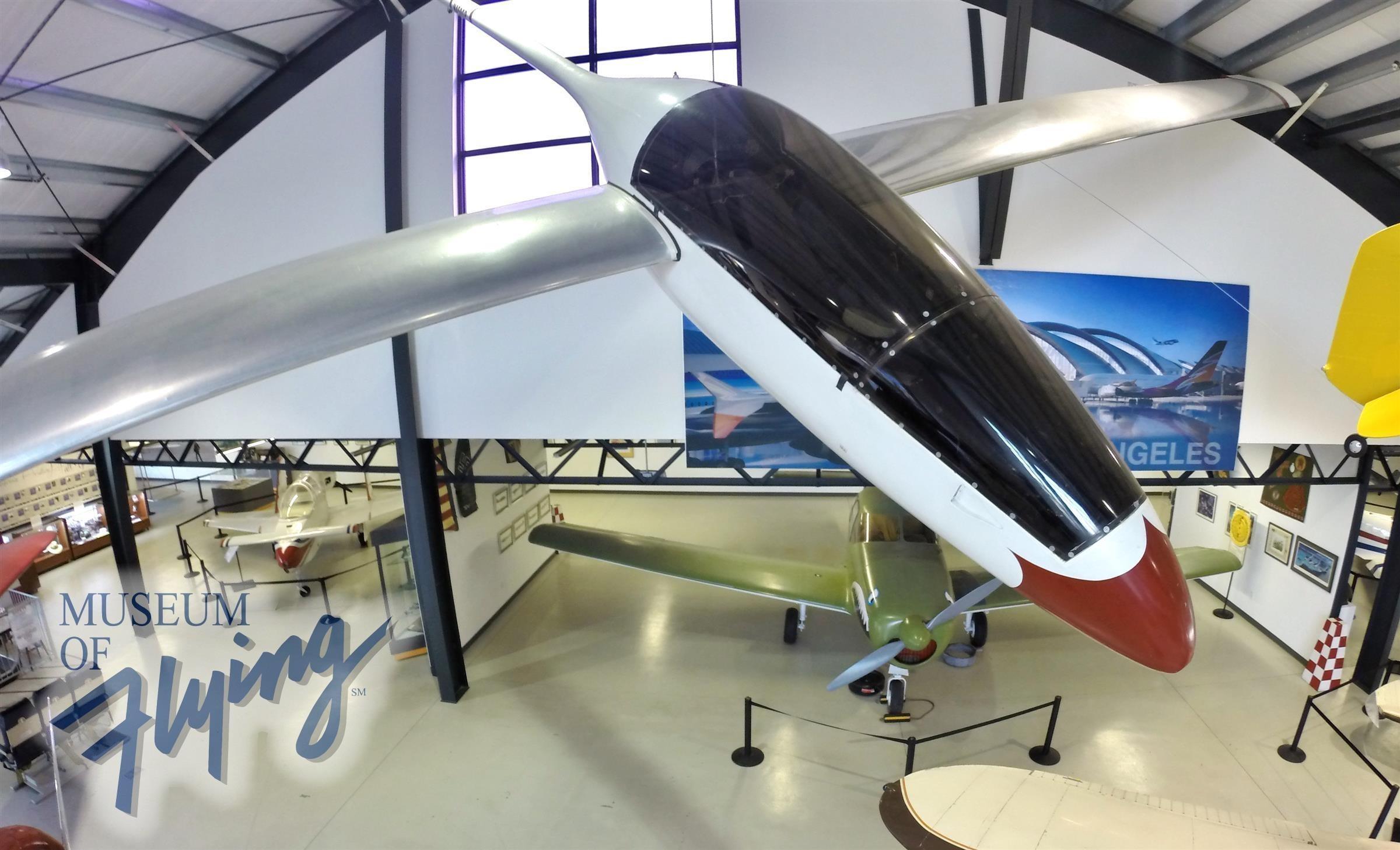 Monnett Monerai Sailplane - N450SP | Museum of Flying