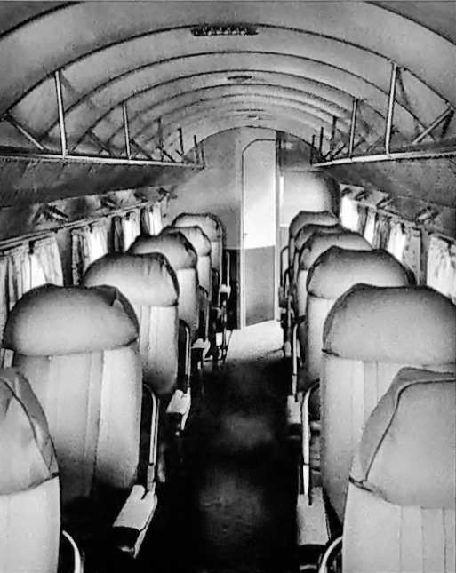dc interiors douglas dc 3 restoration Interior view of a DC-2 ...