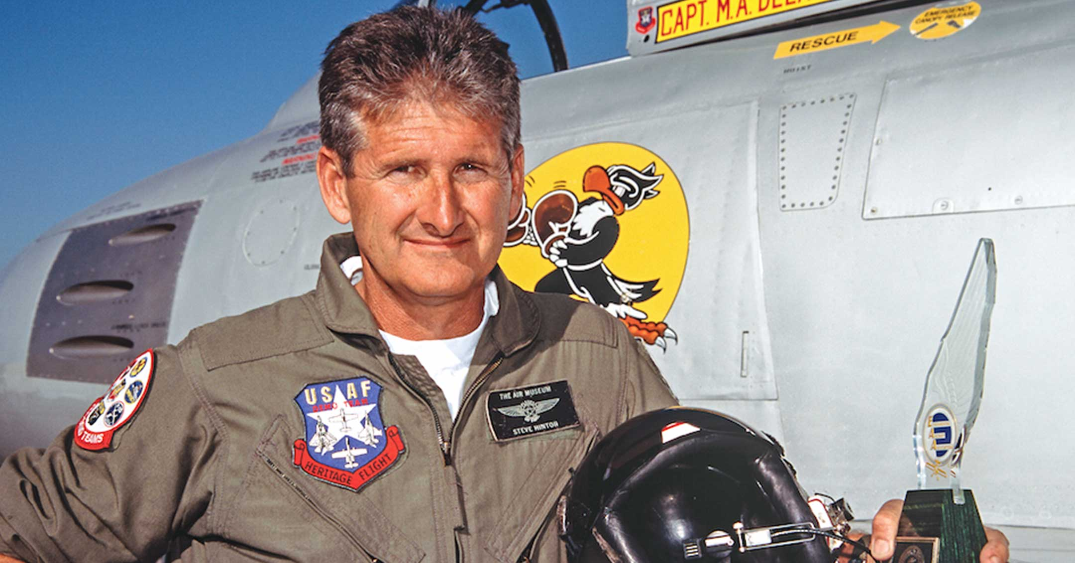 Steve Hinton | California Aviation Hall of Fame | Museum of Flying