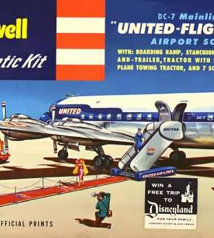 United DC-7 Airport Set | The Museum of Flying